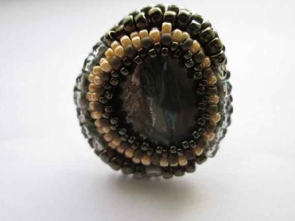 hematite beauty, pierscionek