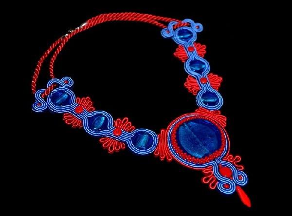 Blue i red