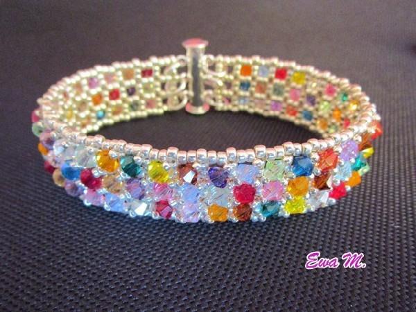 Kolorowe kryształki