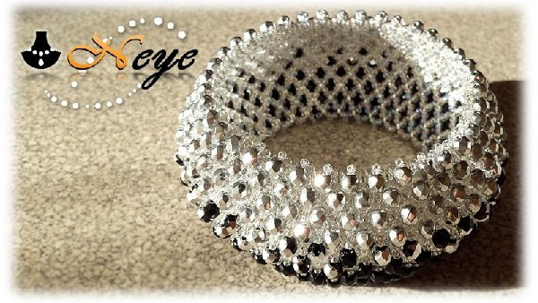 Caprice silver-black