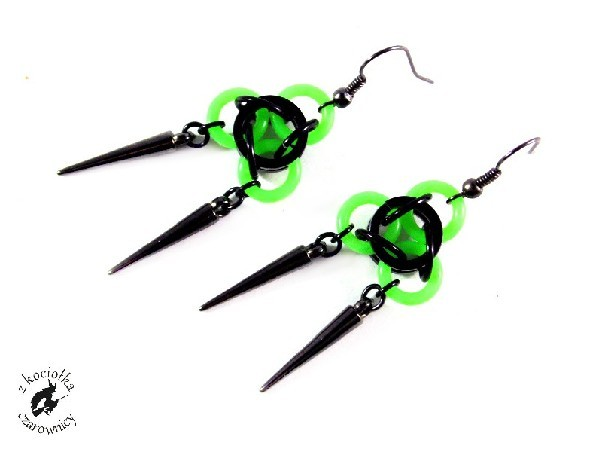 Neonki zielone