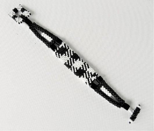 Avant Garde Black & White Bracelet