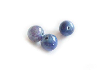 Lapis lazuli kula 8 mm - 2 sztuki