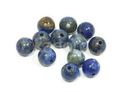Lapis lazuli kula 6 mm - 2 sztuki