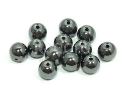 Hematyt kula 6 mm - 2 sztuki