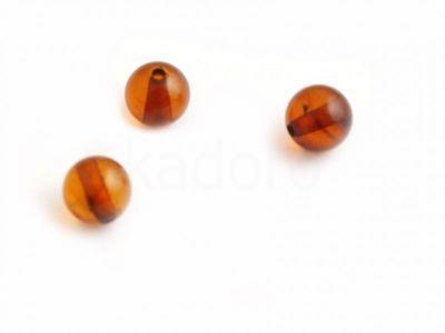 Bursztyn miodowy kula 5.5 mm - 1 sztuka
