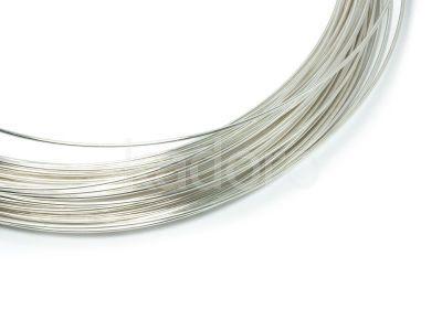 Drut srebrny 999 2 mm - 10 cm