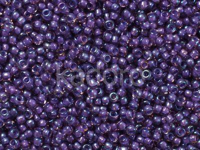 TOHO Round 11o-928 Inside-Color Rainbow Rosaline - Opaque Purple Lined - 10 g