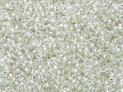 TOHO Round 11o-21 Silver-Lined Crystal - 10 g