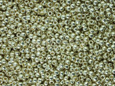 TOHO Round 11o-PF558 Permanent Finish - Galvanized Aluminium - 10 g