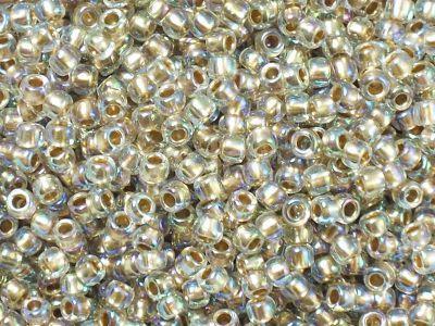 TOHO Round 8o-994 Gold-Lined Rainbow Crystal - 10 g