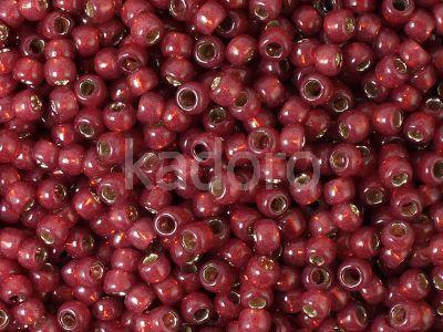 TOHO Round 8o-2113 Silver-Lined Milky Pomegranate - 10 g