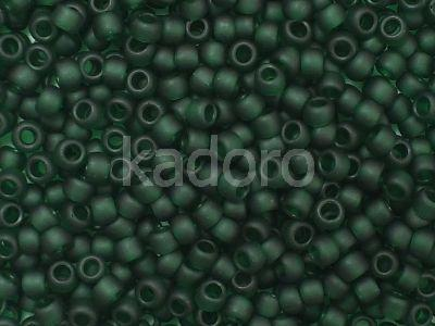 TOHO Round 8o-939F Transparent-Frosted Green Emerald - 10 g