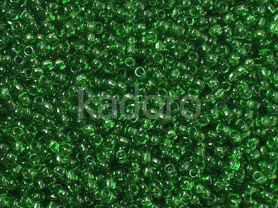 TOHO Round 11o-7B Transparent Grass Green - 10 g