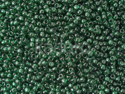 TOHO Round 11o-939 Transparent Green Emerald - 10 g