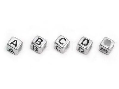 Alfabet akrylowy - literka W - 1 sztuka
