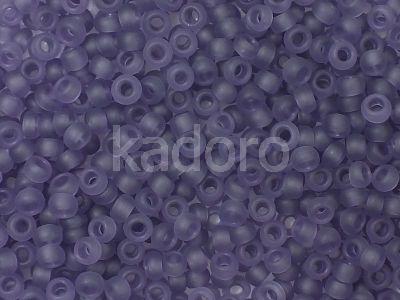 TOHO Round 8o-19F Transparent-Frosted Sugar Plum - 10 g