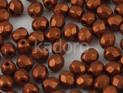FP 4mm Matte Metallic Dark Copper - 40 sztuk