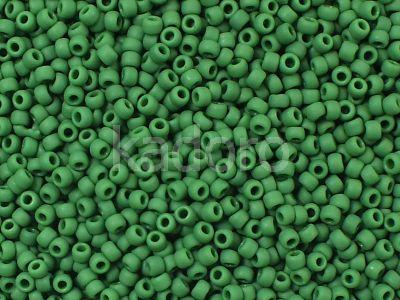 TOHO Round 11o-47HF Opaque-Frosted Pine Green - 10 g