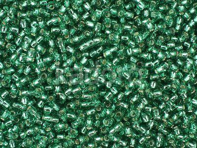 TOHO Round 11o-24B Silver-Lined Dark Peridot - 10 g