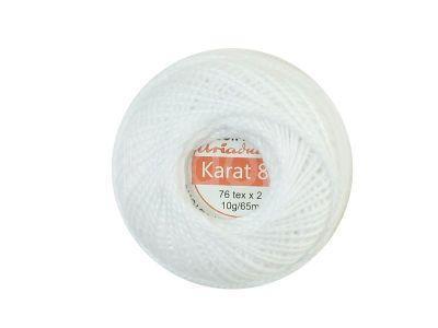 Kordonek Ariadna Karat 8 Biały - 10 g
