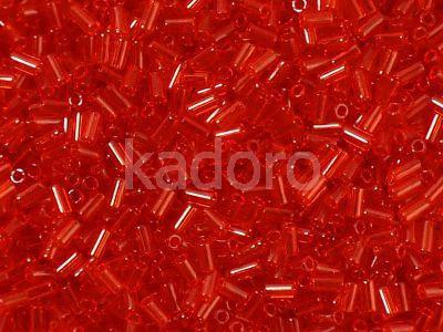 TOHO Bugle 1-5B Transparent Siam Ruby - 10 g