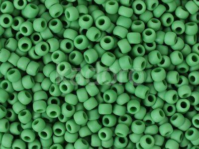 TOHO Round 8o-47DF Opaque-Frosted Shamrock - 10 g