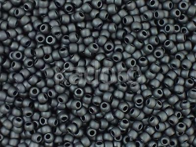 TOHO Round 11o-611 Matte-Color Opaque Gray - 10 g