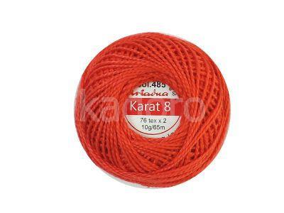 Kordonek Ariadna Karat 8 czerwony - 10 g