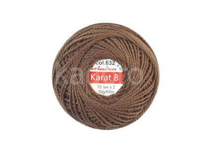 Kordonek Ariadna Karat 8 brązowy - 10 g
