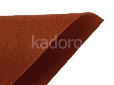 Filc miękki 1 mm brązowy (584) - arkusz 30x20 cm