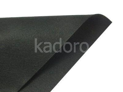 Filc miękki 1 mm czarny (614) - arkusz 30x20 cm