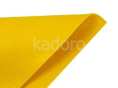 Filc miękki 1 mm ciemnożółty (061) - arkusz 30x20 cm
