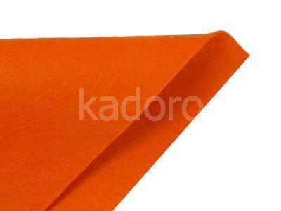 Filc miękki 1 mm ciemnopomarańczowy (118) - arkusz 30x20 cm