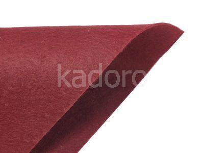 Filc miękki 1 mm bordowy (266) - arkusz 30x20 cm