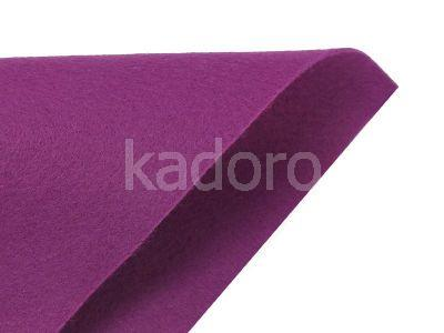 Filc miękki 1 mm fioletowy (282) - arkusz 30x20 cm