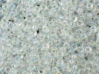 TOHO Round 8o-161 Trans-Rainbow Crystal - 10 g