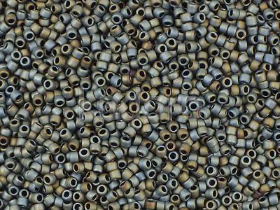 TOHO Round 15o-613 Matte-Color Iris Gray - 5 g