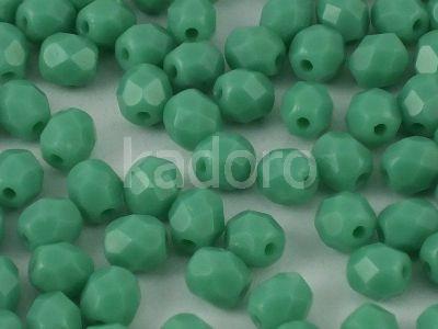 FP 4mm Green Turquoise - 40 sztuk