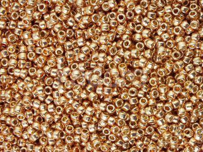 TOHO Round 11o-PF551 Permanent Finish - Galvanized Rose Gold - 10 g