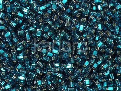 TOHO Cube 1.5mm-27BD Silver-Lined Teal - 5 g