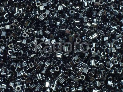 TOHO Cube 1.5mm-81 Metallic Hematite - 5 g