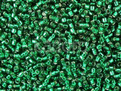 TOHO Treasure 12o-36 Silver-Lined Green Emerald - 5 g
