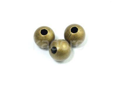 Kula pozlacana antyczna 10 mm - 1 sztuka