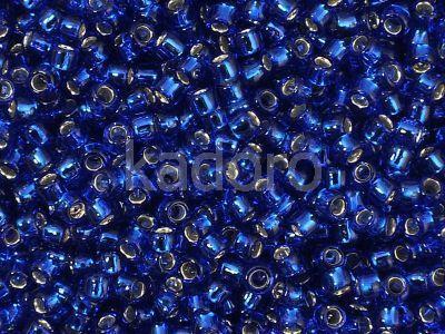 TOHO Round 8o-28 Silver-Lined Cobalt - 100 g