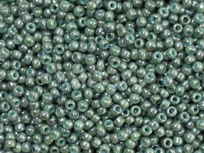 TOHO Round 11o-1207 Marbled Opaque Turquoise - Blue - 10 g