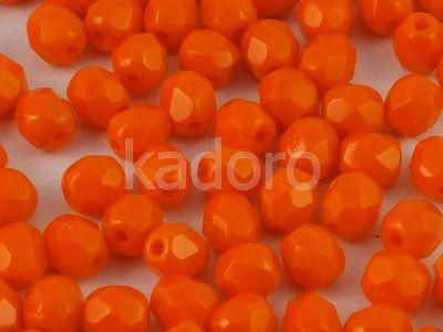 FP 4mm Opaque Orange - 40 sztuk
