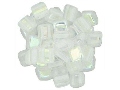 Tile 6mm Crystal AB - 20 sztuk