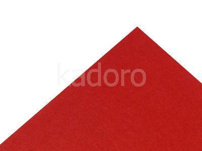 Podkład filcowy 1 mm czerwony (153) - arkusz 30x20 cm