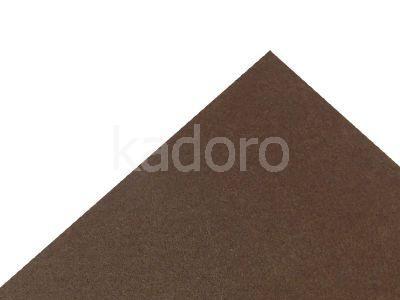 Podkład filcowy 1 mm brązowy (587) - arkusz 30x20 cm